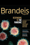 cover of Brandeis Magazine
